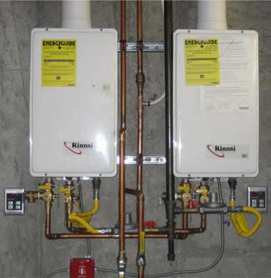 tankless heaters